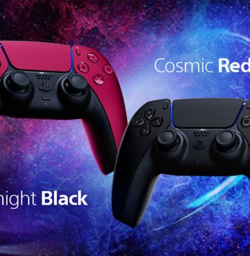 PlayStation lança DualSense Comic Red e Midnight Black