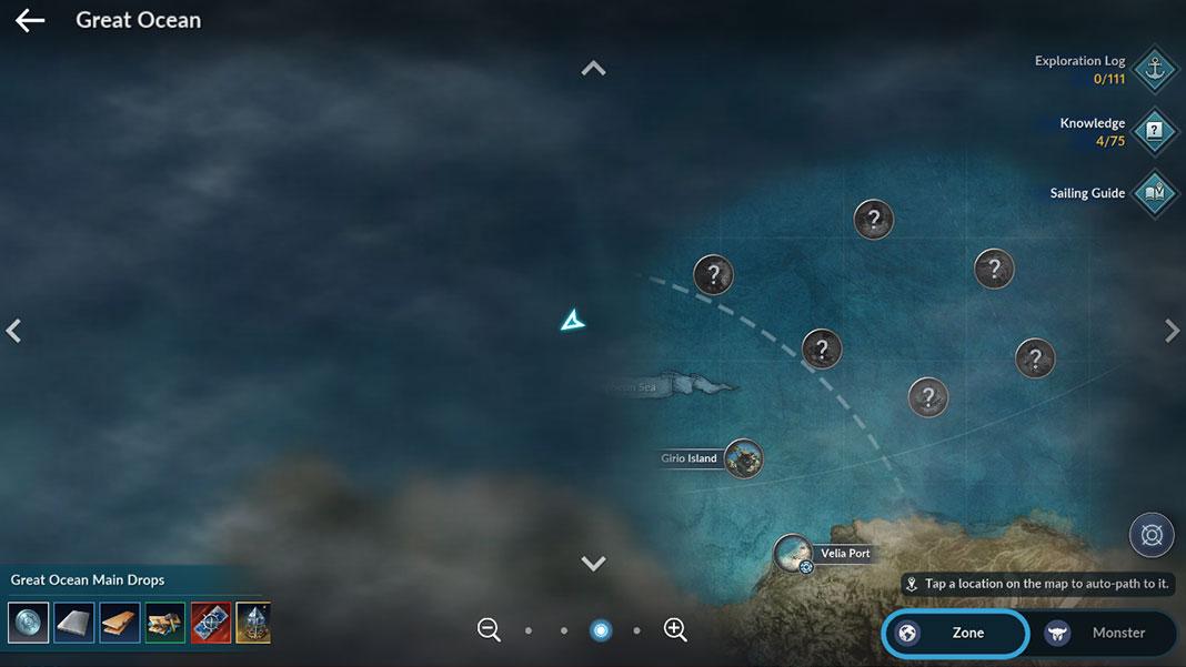 Black Desert Mobile / The Great Ocean