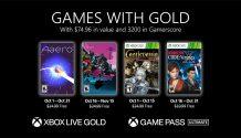 Xbox Games with Gold de Outubro 2021