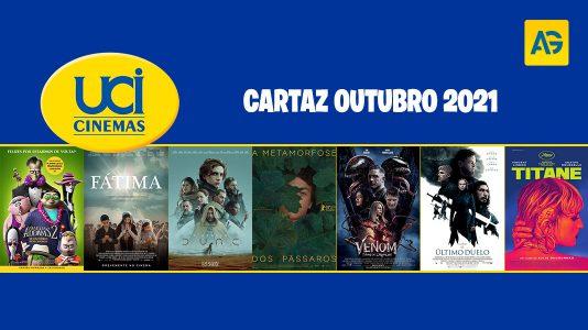UCI Cinema Cartaz outubro 2021