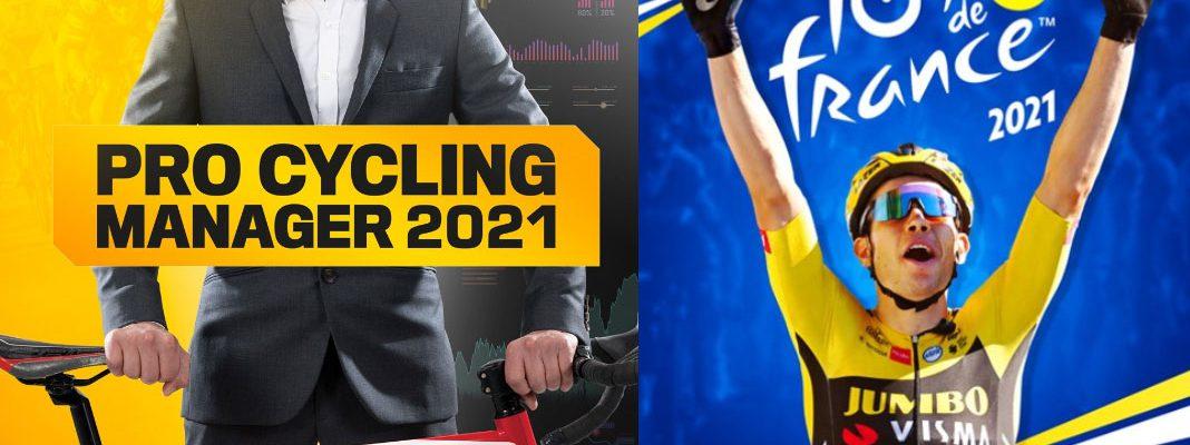 Tour de France 2021 e Pro Cycling Manager 2021