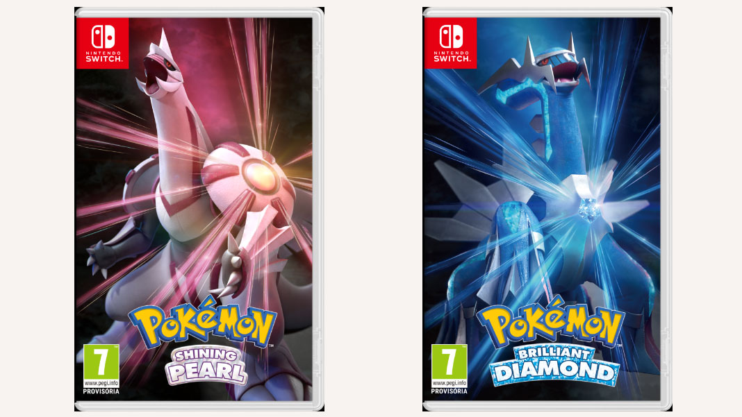 Pokémon Brilliant Diamond e Pokémon Shining Pearl