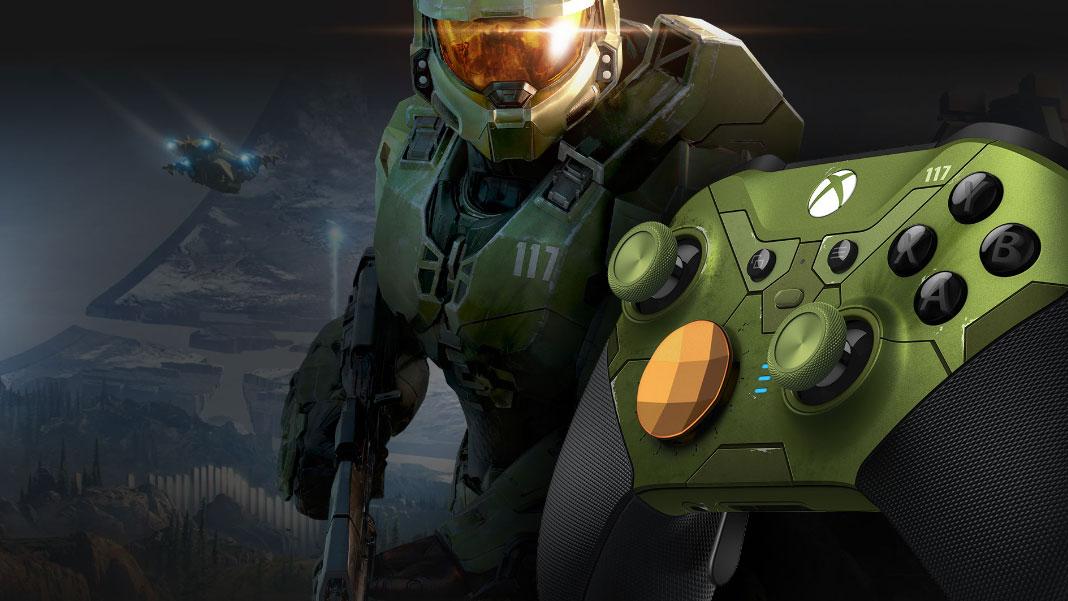 Xbox Elite Series 2 Halo Infinite Limited Edition