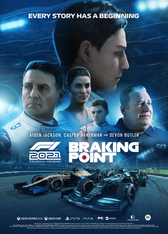 F1 2021 Braking Point