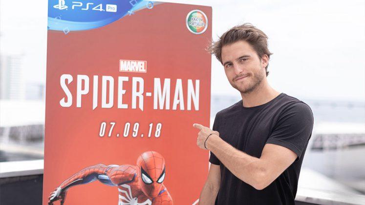 Tiago Teotónio Pereira dá voz a Peter Parker em Marvel's Spider-Man