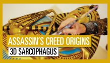 Assassin's Creed Origins - sarcófago